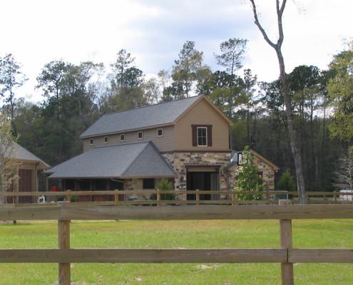 Custom Equestrian Barn