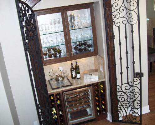 wine closet - after