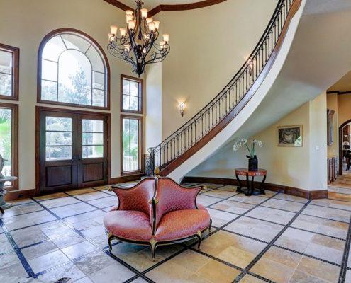 foyer (floating stair)
