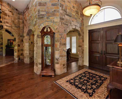 foyer (stone entry)